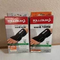 Mueller Green Fitted Wrist Brace  Black, Right Hand, Small/M