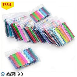 Multi Color Dental Orthodontic Ligature Ties Elastic Rubber