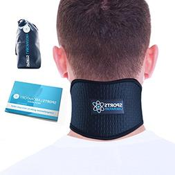 SPORTS LABORATORY Neck Support Brace for Neck Pain with Self