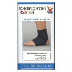 Fla 40-701307 Neoprene Ankle Support, Navy, Youth