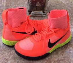 new air court flare wmns orange ankle