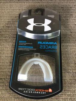 🔴NEW🔴 Under Armour Braces Mouth Guard Strapped Adult A