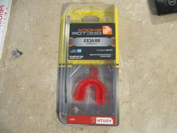 new Shock Doctor  braces strapped mouth guard piece youth 11