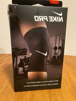 New Nike Combat Closed Patella Knee Sleeve 2.0 Large Unisex