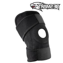 new wrap around knee brace support adjustable