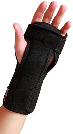 AidBrace Night Wrist Sleep Support Brace - Fits Both Hands -