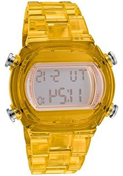 Adidas Nylon Candy Digital Grey Dial Unisex watch #ADH6505