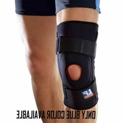 OPEN PATELLA KNEE STABILISER Silicone Padded Compression Sup