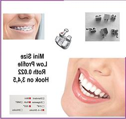 Cosmetic Oral Orthodontic Brackets 40pcs
