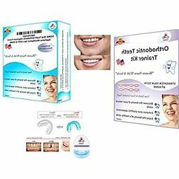 oral tooth orthodontic alignment trainer appliance mouthpiec
