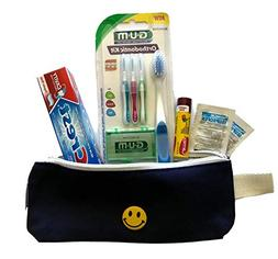 Orthodontic Kit For School & Travel! Includes Canvass Bag, G