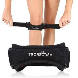 Patella Knee Strap for Knee Pain Relief for Hiking, Soccer,