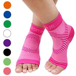 BLITZU Plantar Fasciitis Socks with Arch Support, Foot Care