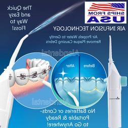 Portable Water Floss Dental Hand Press Oral Water Jet Cords