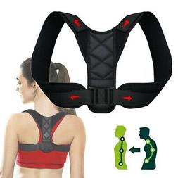 posture corrector men support back shoulder pro