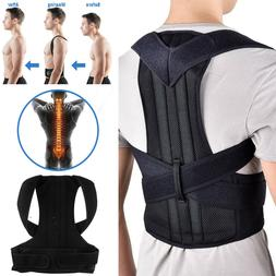 Posture Corrector Men Women Back Brace Shoulder Support Trai