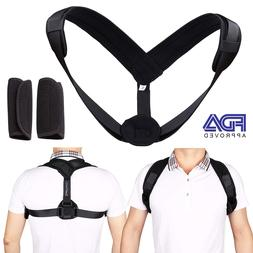 posture corrector support back shoulder brace belt