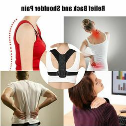 Posture Corrector - Upper Back Brace for Clavicle Support an