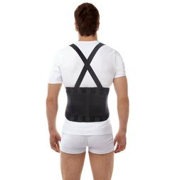 Premium Lumbar Lower Back Brace and Support Belt with Should