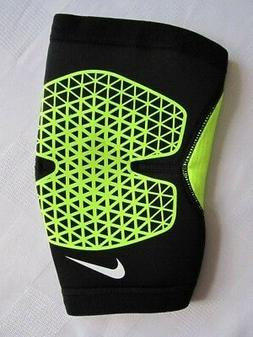 Nike Pro Combat Hyperstrong Elbow Sleeve Black/Volt Mens Wom
