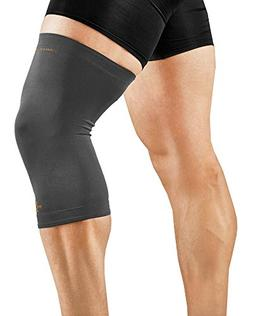 Tommie Copper Men's Recovery Refresh Knee Sleeve, Slate Grey