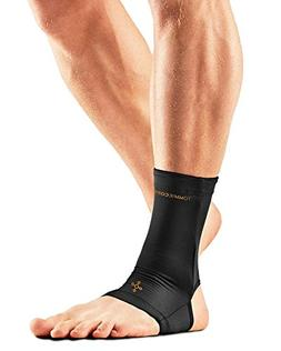 Tommie Copper Men's Recovery Thrive Ankle Sleeve, Black, Lar