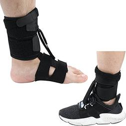 Right or Left Drop Foot Brace,Plantar Fasciitis Splint,Day/N