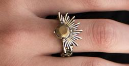 Paparazzi Ring - Electric Eclipse - Brass