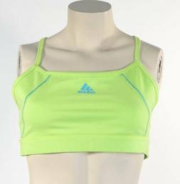 Adidas Signature Lime Green Racer Back Sports Bra Womans NWT