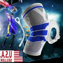 Silicone Spring Knee Brace Sport Support Strong Meniscus Pro