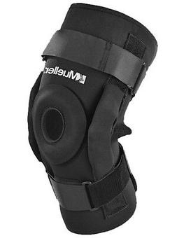 Mueller Sports Medicine Pro Level Hinged Knee Brace Deluxe -