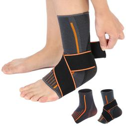 Sports Pain Relief Compression Ankle Brace Support Stabilize