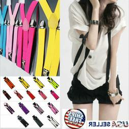 suspenders braces men women y shape back