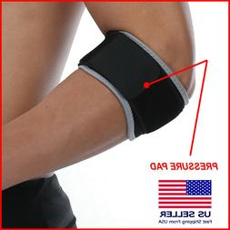 Tennis Elbow Brace Strap Tendonitis Golfers Band Golf Pain R