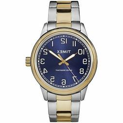 Timex TW2R36600, Men's New England 2-Tone Bracelet Watch, Ea