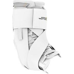 Shock Doctor Ultra Wrap Lace Ankle Support Brace - White