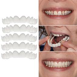 UMFun 5Pcs Temporary Smile Comfort Fit Cosmetic Teeth Dentur