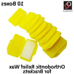 Wax for Braces / Brackets Orthodontic Dental Flavored Relief
