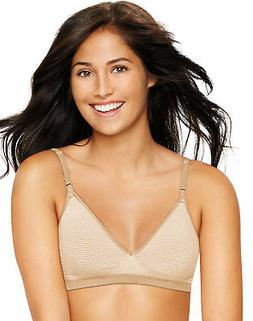 Hanes Wirefree Bra Ultimate Comfy Support Comfort Flex Fit W