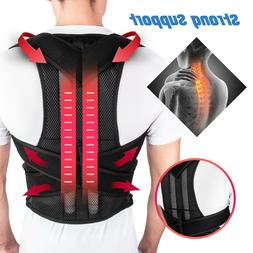 Adjustable Women Men Back Posture Shoulder Corrector Support