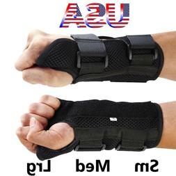 Wrist Hand Brace Carpal Tunnel Support Splint Arthritis Spra