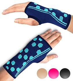 Sparthos Wrist Support Sleeves  – Compression Wrist Brace