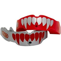Battle Sports Science Youth Fang Mouthguard 2-Pack with Stra